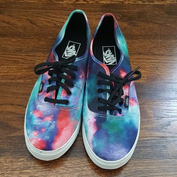 Vans Lo Pro Cosmic Galaxy Nebula shoes Men's 10